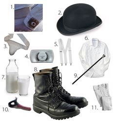 Pieces Needed for a Clockwork Orange Costume