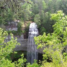 Fall Creek Falls, Spencer, Tennessee — by Nikki Mcpeak. Gorgeous waterfall of fall creek falls :)