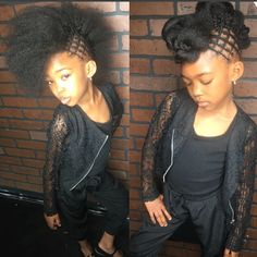 Cute via @thehairmagician  Read the article here - http://www.blackhairinformation.com/hairstyle-gallery/cute-via-thehairmagician/