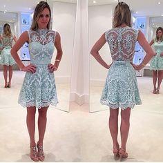 lace homecoming dress,short homecoming dress,2017 homecoming dress,homecoming dresses