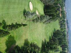 Golf Club Lecco - Il percorso dall'alto