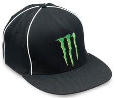 monster energy drink flat bill hat