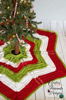 Classic Cable Star  Christmas Tree Skirt premium #crochet #pattern (scheduled via http://www.tailwindapp.com?utm_source=pinterest&utm_medium=twpin&utm_content=post85741705&utm_campaign=scheduler_attribution)