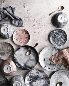 Beautiful color palette and still life of ceramics.- Beautiful color palette and still life of ceramics. Styled and textured effectiv… Beautiful color palette and still life of ceramics. Styled and textured effectively. Ceramic Plates, Ceramic Pottery, Ceramic Art, Palette, Cerámica Ideas, Decor Ideas, Paperclay, Artisanal, Wabi Sabi
