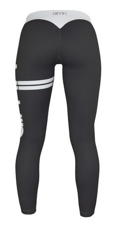AIM'N SPORTSWEAR: Black Stripe Tights // aimn.co.nz //  SHIPPING WORLDWIDE