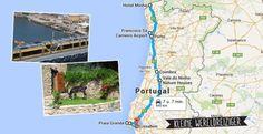 Portugal met een huurauto, onze route van Minho naar Lissabon.
