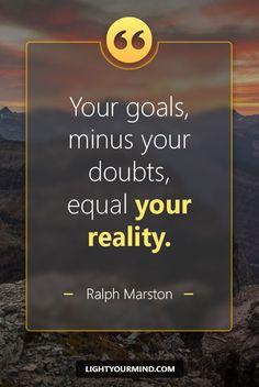 I Will Reach My Goals.  ⚓