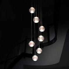 UMEI™ Modern Pendant Lights Pendant Lamp G4 Retroifit 7 Lights Chrome Plating Crystal for Dining Room Stairs Light 2018 - $203.99