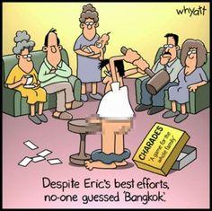 No one guessed Bangkok