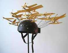 Paul Villinski artwork > flying machines