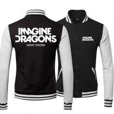 Imagine Dragons Night Vision Logo Baseball Shirts