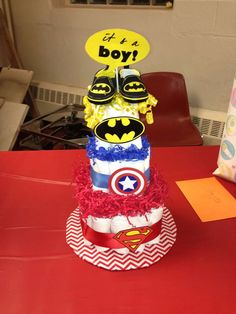 Superhero Baby Shower Party Ideas | Photo 1 of 12 | Catch My Party