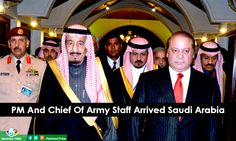 PM And Chief of Army staff arrived Saudi Arabia