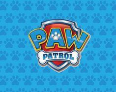 PRINTED Paw Patrol Girl Birthday Party Backdrop by paperstudioeu