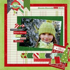 Layout: New Simple Stories December Documented