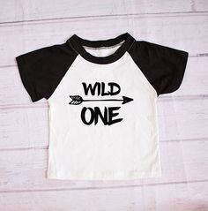 Boys birthday outfit, for the little Wild One in your life  https://www.etsy.com/ca/listing/500331030/birthday-shirt-1-wild-one-boy-birthday