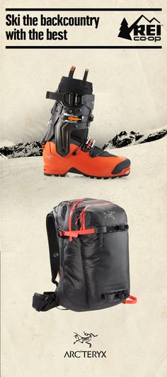 Planning any backcountry trips? It pays to travel with best-in-class gear, like the Arc'teryx Procline Carbon Support Ski Boots and Arc'teryx Voltair 30 Avalanche Airbag Pack. Shop now.