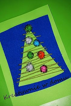 Kara świąteczna/ choinka/Christmas tree | Kreatywnie w domu