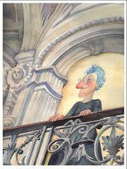 La vecchina al balcone
