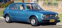 1973 Honda Civic Hatchback, exterior
