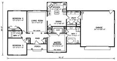 Berm Style Home Plans | Click To View House Plan Main Floor Plan Ideas