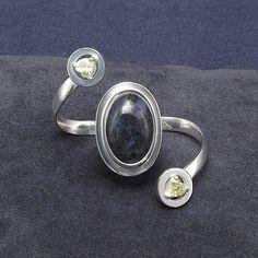Ring on two fingers DENIM