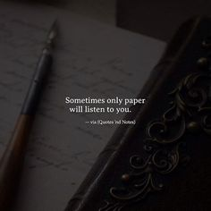 Sometimes only paper will listen to you. via (http://ift.tt/2oPqSDG)