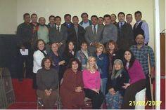Grupo de estudiantes del curso La Dinámica del Cambio Bíblico con la maestra Natalie Carley