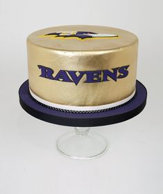 Baltimore Ravens Groom's Cake
