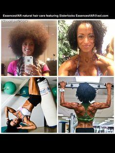 #Sisterlocks #workout #dream hair.