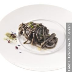 Linguine con quinto quarto di calamaro - Chef Marianna Vitale