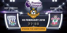 Prediksi Bola Jitu West Brom vs Southampton 3 Februari 2018 malam ini yang akan berlangsung pada laga pertandingan Kompetisi Liga Inggris Premier League ditayangkan pada hari Minggu, 03 Februari 2018. Pada Pukul 22:00 WIB di Stadion The Hawthorns.