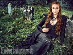 'Game of Thrones' Exclusive EW Portraits: Queens of the Throne Age | Sophie Turner as Sansa Stark | EW.com