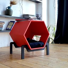 Pet Beds, Dog Bed, Dog Station, Geometric Furniture, Wooden Toy Cars, Pet Hotel, Cat Playground, Cat Room, Cat Condo