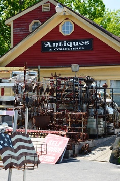 Pete's Place  (Hollis, Maine) ~ Salvage Yard