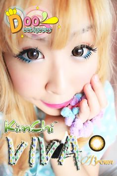 Code: Viva_Brown Brand: Kitty Kawaii Model: Viva_Brown Soft Contact Lens Duration : 1 year Diameter(mm) : dia 14.5 Base Curve(mm) : B.c 8.60 Effect 16.0 Water content 38% Expire : 5 Years Manufactured by Dueba co.,Ltd. made in korean *************************************** Contact le...