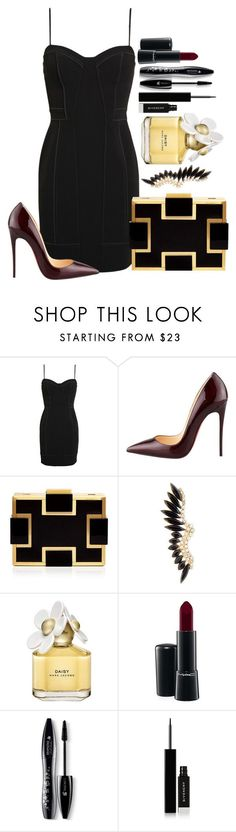 """Untitled #1375"" by fabianarveloc on Polyvore featuring Alexander Wang, Christian Louboutin, Sondra Roberts, Marc Jacobs, MAC Cosmetics, Lancôme, Givenchy, women's clothing, women's fashion and women"