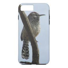 Cactus Wren iPhone 8 Plus/7 Plus Case - animal gift ideas animals and pets diy customize