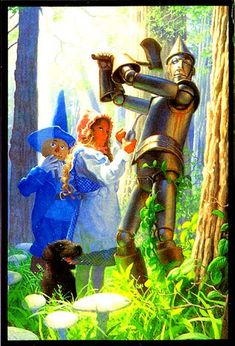 A Man Made of Tin by Greg Hildebrandt