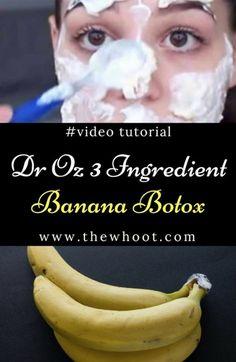Banana Botox Mask All Natural 3 Ingredient Miracle
