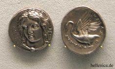 ANCIENT GREEK COIN (Κλαζομεναί)