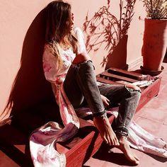 Chill Out...#bakchic #kaftan #fashion #marrakesh #travel #love  @thesafarer