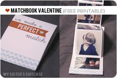 My Sister's Suitcase: How to Make a Valentine Using Instagram Pictures