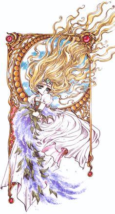 "Art from ""magic knight rayearth"" series by manga artist group clamp. Anime Sexy, Manga Anime, Anime Art, Cardcaptor Sakura, Manga Creator, Chobits Anime, Chise Hatori, Magic Knight Rayearth, Xxxholic"