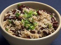 beans and rice...and rice and beans