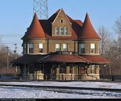 Durand Union Station, Durand, Michigan  If you havent been, you must. Built in the heart of what used to be Grand Trunk Country