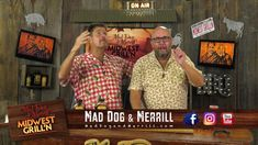 Tips from the grill! Mad Dog & Merrill showing you how to make kraut burgers on the grill. #maddogandmerrill #whyigrill #looksdelicious #grillingtips #whatsfordinner #midwestgrilln