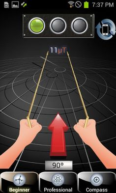 Dowsing Requirements: Overview: Geopathic grid [Dowsing] This application will allow people to measure Geopathic Stress all around the world and allow you a more healthy life. Pendulum Board, Health And Fitness Apps, Fitness Tips, Reiki, Survival Knots, Gold Detector, Android Video, Metal Detecting, Metal Art