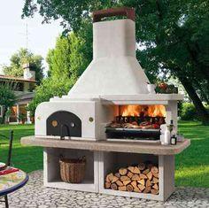 cucine da esterno in muratura - cucina esterna con forno a legna ... - Grillkamin Bauen Diese Tipps Werden Sie Bei Der Planung Unterstutzen