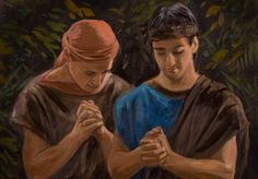 Omner and Himni - Sons of king Mosiah, they were with Alma the younger when he saw the angel. They are the younger brothers of Ammon and Aaron. Omner and Himni refused to take their rightful place as kings in favor of serving the Lord as missionaries - and they were powerful missionaries especially among the Lamanites.    Mosiah 27 - Alma 48